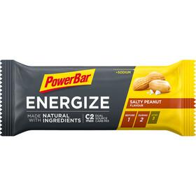 PowerBar Caja Barritas Energéticas Ingredientes Naturales 25x55g, Salty Peanut